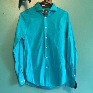 Blue Men's Formal Shirt